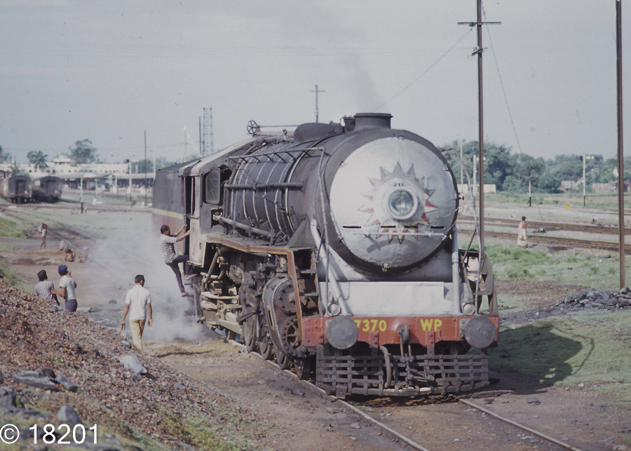 Indian Steam Class WP