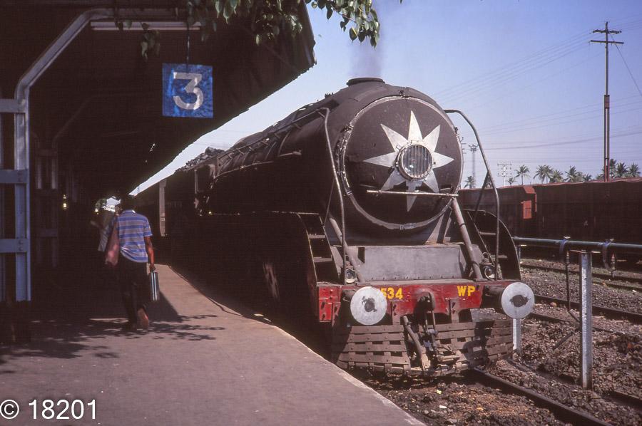 Indian Steam class WP