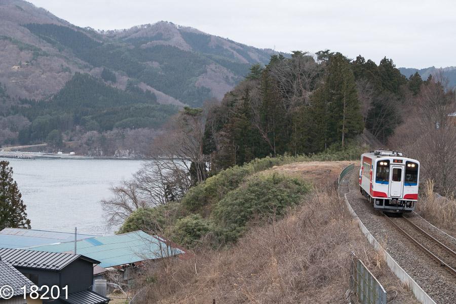 三陸鉄道リアス線 吉浜